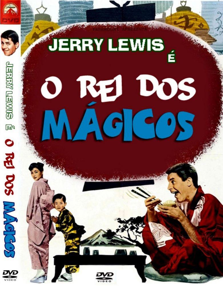 SPACETREK66 - DVD O REI DOS MAGICOS - JERRY LEWIS