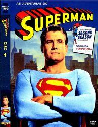 DVD SUPER HOMEM - AS AVENTURAS - 2 TEMP - 5 DVDs - 1952-1958