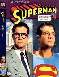 DVD SUPER HOMEM - AS AVENTURAS - 3/4 TEMP - 5 DVDs - 1951-1958