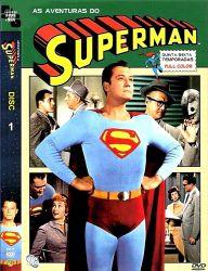 DVD SUPER HOMEM - AS AVENTURAS - 5/6 TEMP - 5 DVDs - 1951-1958