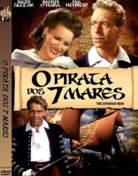 DVD O PIRATA DOS SETE MARES
