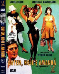 DVD ONTEM HOJE E AMANHA