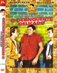 DVD O DELINQUENTE DELICADO - JERRY LEWIS