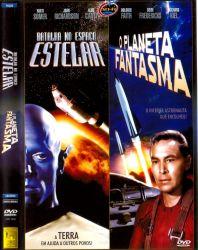 DVD BATALHA NO ESPAÇO ESTELAR - O PLANETA FANTASMA - 2 X 1