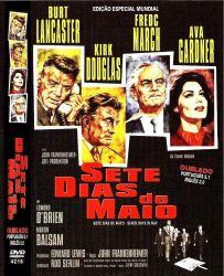 DVD SETE DIAS DE MAIO - KIRK DOUGLAS e BURT LANCASTER