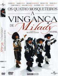 DVD OS QUATRO MOSQUETEIROS - A VINGANÇA DE MILADY - CHRISTOPHER LEE