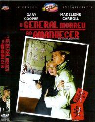 DVD O GENERAL MORREU AO AMANHECER - GARY COOPER