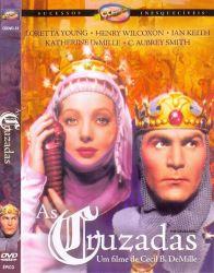 DVD AS CRUZADAS - LORETTA YOUNG