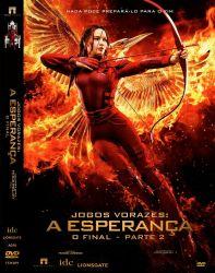 DVD JOGOS VORAZES - A ESPERANÇA O FINAL - PARTE 2