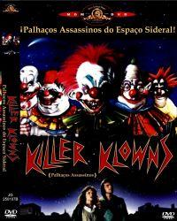 DVD PALHAÇOS ASSASSINOS DO ESPAÇO SIDERAL