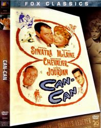 DVD CAN CAN - FRANK SINATRA