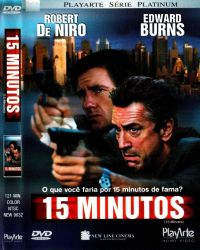 DVD 15 MINUTOS - ROBERT DE NIRO