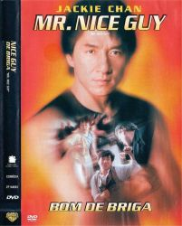 DVD MR NICE GUY - BOM DE BRIGA - JACKIE CHAN