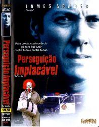 DVD PERSEGUIÇAO IMPLACAVEL - JAMES SPADER