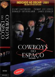 DVD COWBOYS DO ESPAÇO - DUBLADO - CLINT EASTWOOD