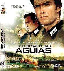 DVD O DESAFIO DAS AGUIAS - LEGENDADO - CLINT EASTWOOD