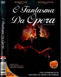 DVD O FANTASMA DA OPERA - 1962