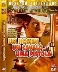 DVD UM HOMEM UM CAVALO UMA PISTOLA