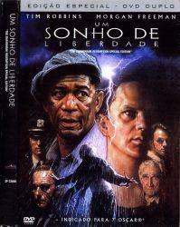 DVD UM SONHO DE LIBERDADE - MORGAN FREEMAN