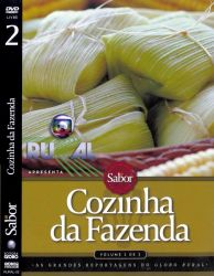 DVD COZINHA DA FAZENDA - VOL 2