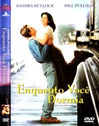DVD ENQUANTO VOCE DORMIA - SANDRA BULLOCK