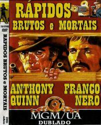 DVD RAPIDOS BRUTOS E MORTAIS - ANTHONY QUINN