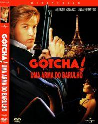 DVD GOTCHA - UMA ARMA DO BARULHO - ANTHONY EDWARDS