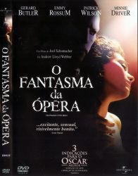 DVD O FANTASMA DA OPERA - 2004