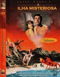 DVD A ILHA MISTERIOSA - 1961 - DUBLADO