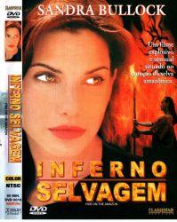 DVD INFERNO SELVAGEM - SANDRA BULLOCK