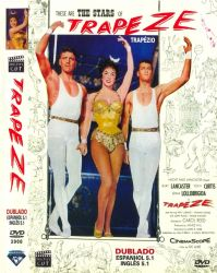 DVD TRAPEZIO - BURT LANCASTER