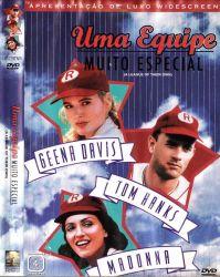 DVD UMA EQUIPE MUITO ESPECIAL - GEENA DAVIS