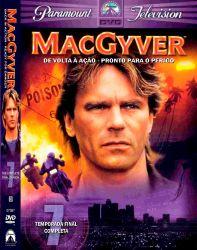 DVD MACGYVER - 7 TEMP - DUBLADO - 4 DVDs