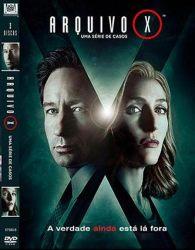 DVD ARQUIVO X - 10 TEMP - 3 DVDs