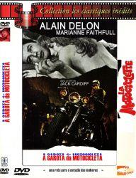 DVD A GAROTA DA MOTOCICLETA - ALAIN DELON