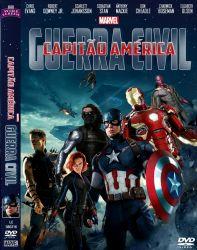 DVD CAPITAO AMERICA - GUERRA CIVIL