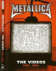DVD METALLICA - ORIGINAL - THE VIDEOS - 1989 - 2004