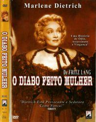 DVD O DIABO FEITO MULHER - MARLENE DIETRICH