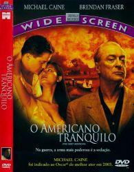 DVD O AMERICANO TRANQUILO - MICHAEL CAINE