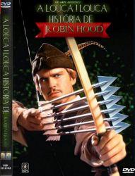 DVD A LOUCA LOUCA HISTORIA DE ROBIN HOOD - 1993