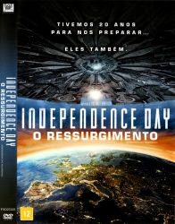 DVD INDEPENDENCE DAY - O RESSURGIMENTO