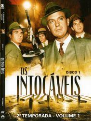 DVD OS INTOCAVEIS - 2 TEMP - VOL 1 - 4 DVDS