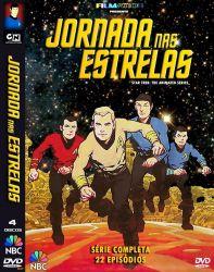 DVD JORNADA NAS ESTRELAS - SERIE ANIMADA - 4 DVD