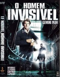 DVD GEMINI MAN - O HOMEM INVISIVEL - 5 DVDs