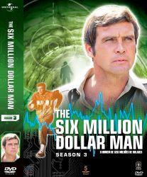 DVD O HOMEM DE 6 MILHOES DE DOLARES - 3 TEMP - 5 DVDs