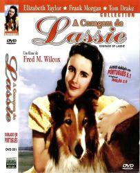 DVD A CORAGEM DE LASSIE - ELIZABETH TAYLOR