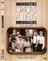 DVD ANARQUISTAS GRAÇAS A DEUS - DVD DUPLO