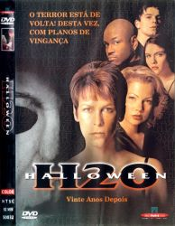 DVD HALLOWEEN H20 - VINTE ANOS DEPOIS - JAMIE LEE CURTIS