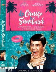 DVD DE CANIÇO E SAMBURA - JERRY LEWIS