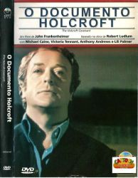 DVD O DOCUMENTO HOLCROFT - MICHAEL CAINE